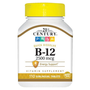 Vitamin B-12 (Cyanocobalamin) supports the body's nerves and blood cells. Quick dissolve vitamin B-12 is a great tasting way to deliver your B vitamin.