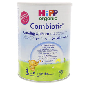 HIPP 3 GROWING UP MILK 900G