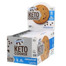 Lenny & Larry's, KETO COOKIE, Chocolate Chip, 12 Cookies, 1.6 oz (45 g)