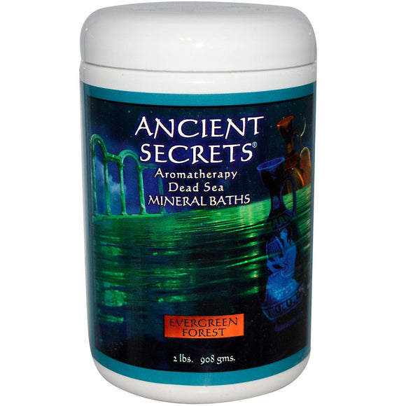 ANCIENT SECRETS AROMATHE.DEAD SEA MINERALS BATHS 2lbs. 908g. - Organic and Natural