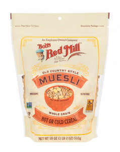 Bob's RedMill, Muesli, Old Country Style Whole Grain, 510g