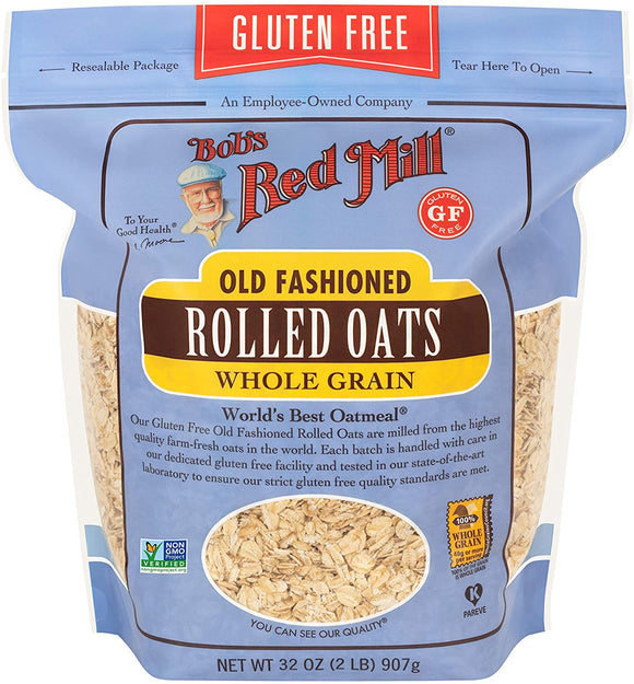 Bob's Redmill Organic Rolled Oats regular 16oz 454g
