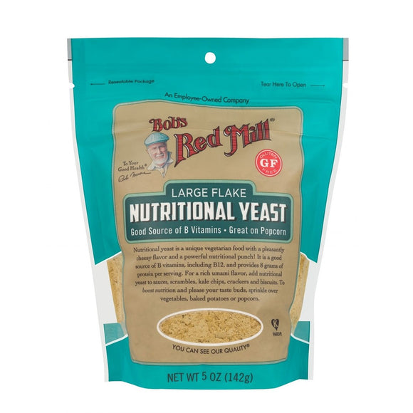 Bob's Redmill, Nutritional Large Flake Yeast, 5oz, (142g)