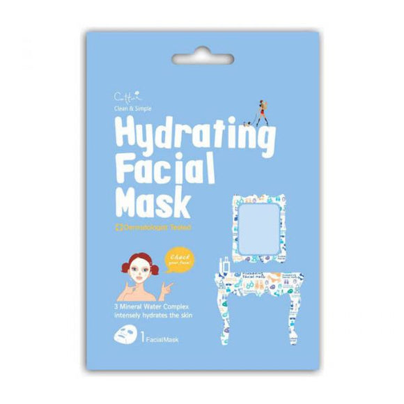 CETTUA C&S HYDRATING FACIAL MUSK 1S
