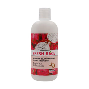 Elfa Pharm, Creamy Shower Gel, Dragon Fruit & Macadamia