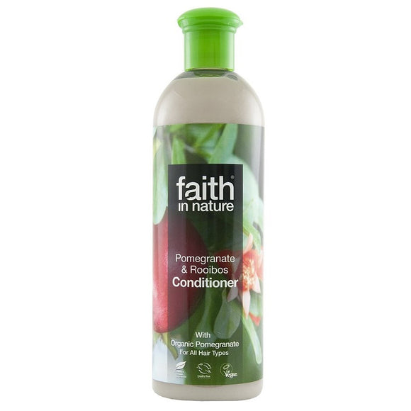 Faith in Nature, Conditioner, Pomegranate & Raiboos, 400ml