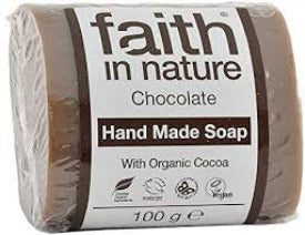 Faith in Nature, Hand Made Soap, Chocolate 100g
