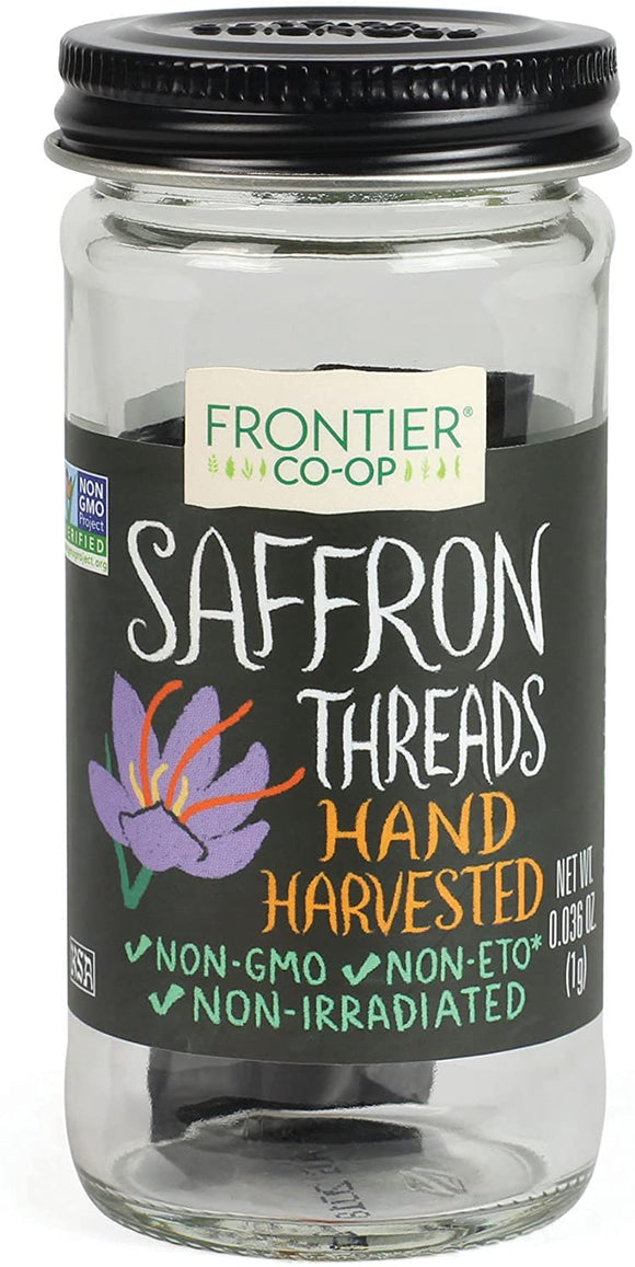 Frontier Natural Products, Saffron, threads 0.036 oz (1g)