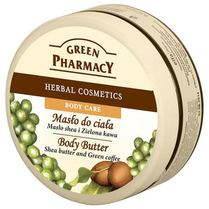 Green Pharmacy, Body Butter, Shea butter & Green Coffee