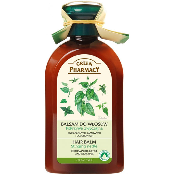 Green Pharmacy, Hair Balm Stinging Nettle for damaged, brittle and weak hair