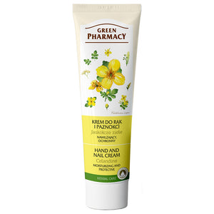 Green Pharmacy, Hand & Nail cream Celandine moisturizing and protective