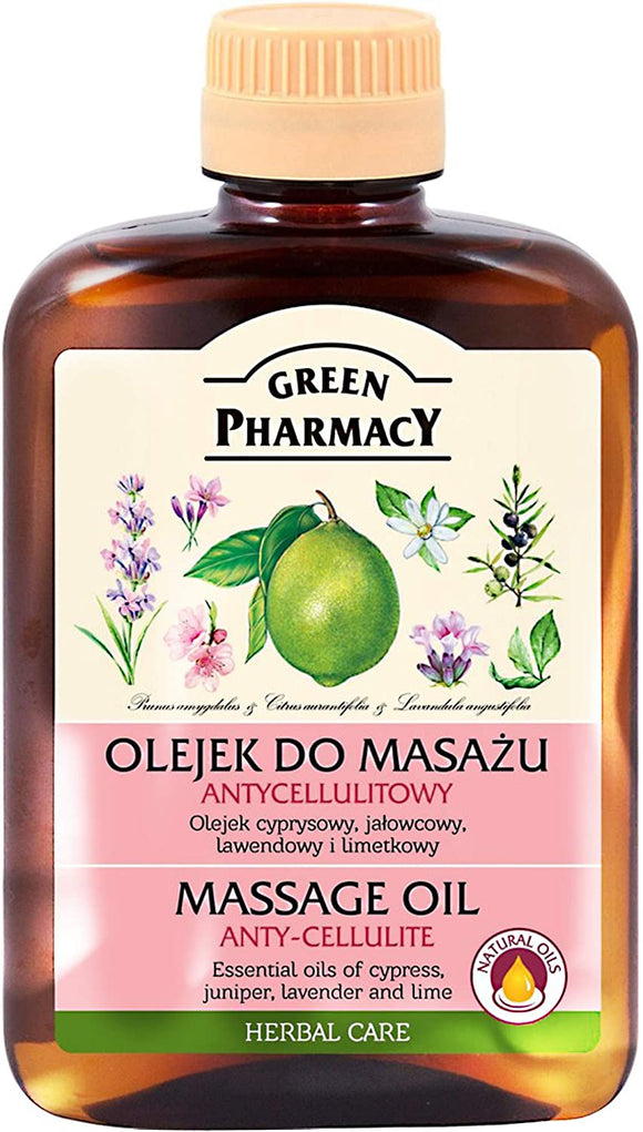 Green Pharmacy, Massage Oil Anty-Cellulite