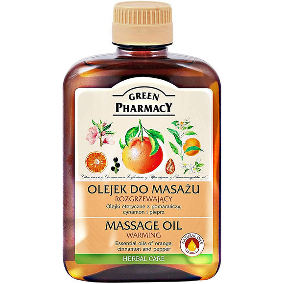 Green Pharmacy, Massage Oil Warming