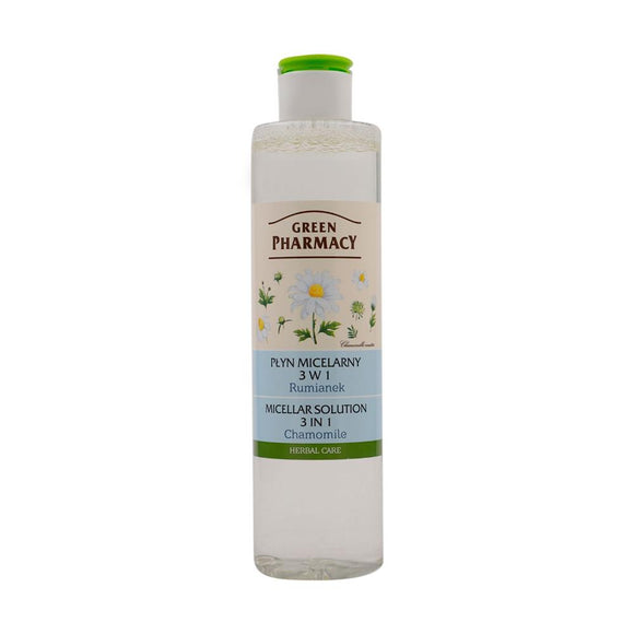 Green Pharmacy, Micellar Solution 3 in 1 Chamomile