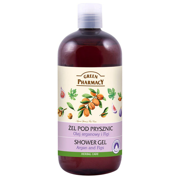 Green Pharmacy, SHOWER GEL argan & Figs
