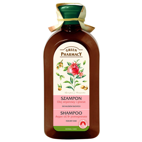 Green Pharmacy, Shampoo Argan oil and Pomegranate for dry hair