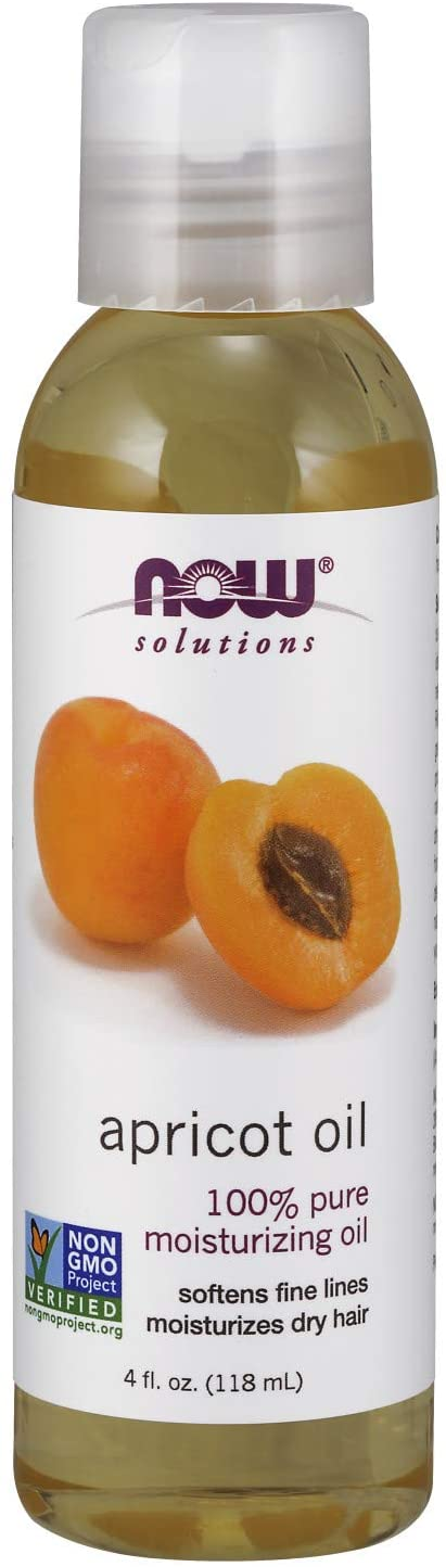 NOW FOODS SOLUTION APRICOT OIL 4FL.OZ (118ML)
