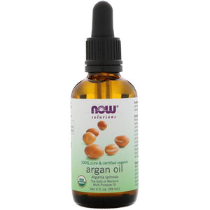 NOW FOODS, ORGANIC ARGAN OIL, 2 FL OZ 59ML