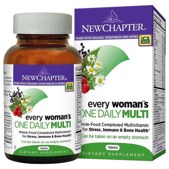 New Chapter Every Woman's One Daily Multi 72tabs