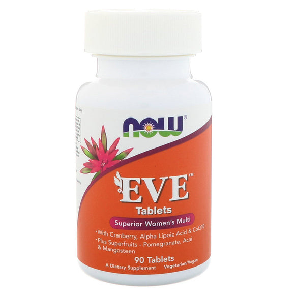 Now Foods, EVE 90 tablets