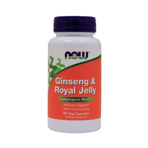 Now Foods, Ginseng & Royal Jelly 90veg