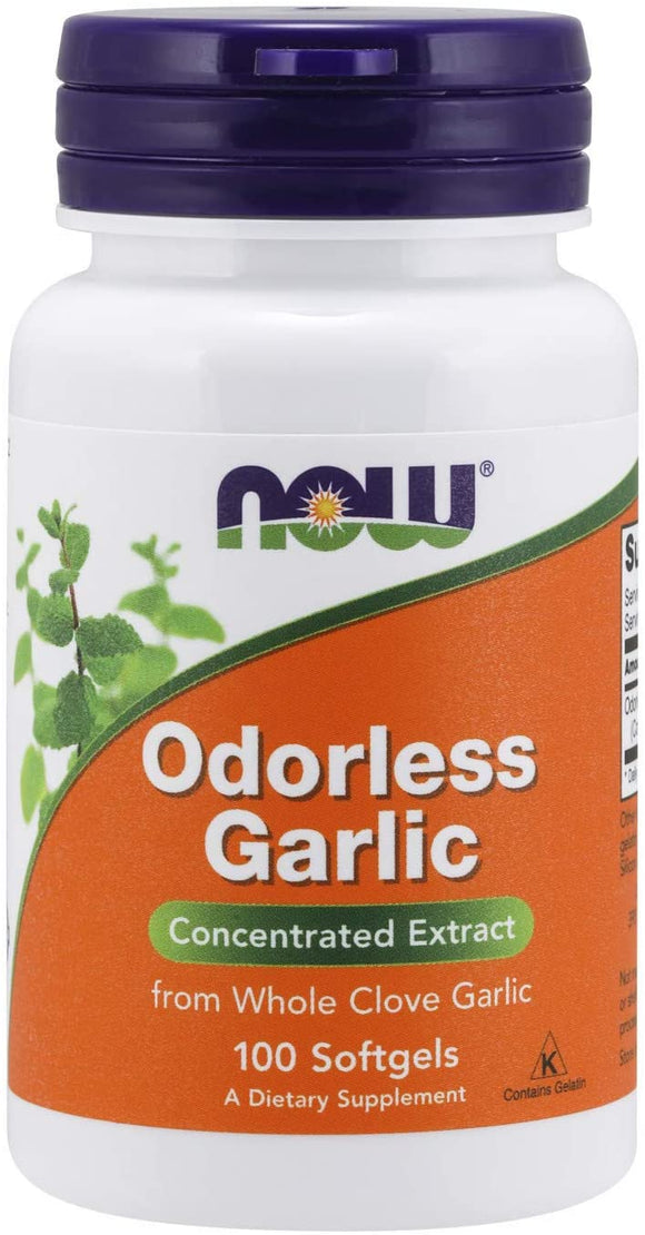 Now Foods, Odorless Garlic 100softgels