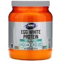 Now Foods, Sports Egg White Protein, Pure Unflavored, 1.2lbs 544g