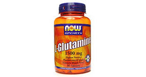 Now Sports, L-Glutamine 1500mg 90tabs