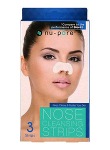 Nu-Pore, Face Cleansing Strips, 3 Strips