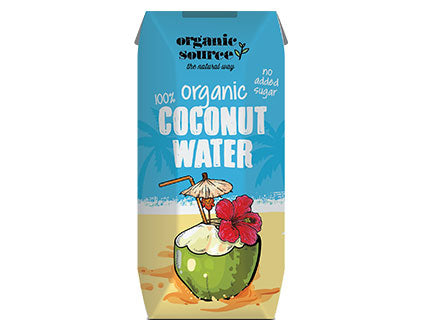 Organic Larder, Organic coconut water 330ml