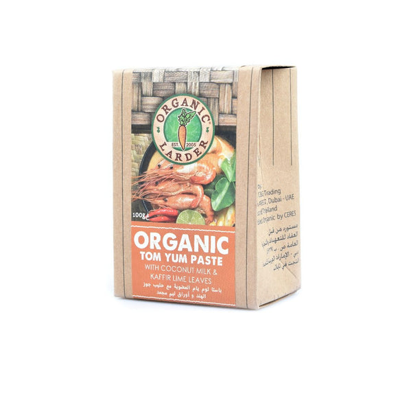 Organic Larder, TOM YUM PASTE 100G