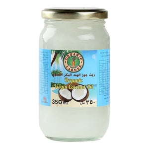 Organic Larder, VIRGIN COCONUT OIL 350ML