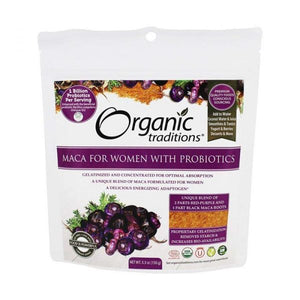 Organic Traditions, Maca for Women with Probiotics, 150g