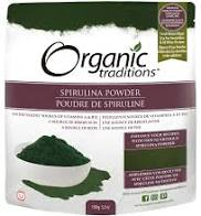 Organic Traditions, Spirulina Powder, 150g