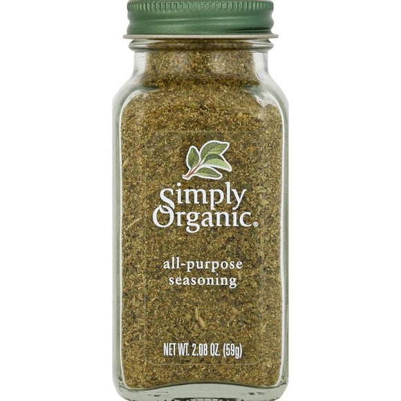 Simply Organic, All Purpose Seasoning 2.08oz 59g