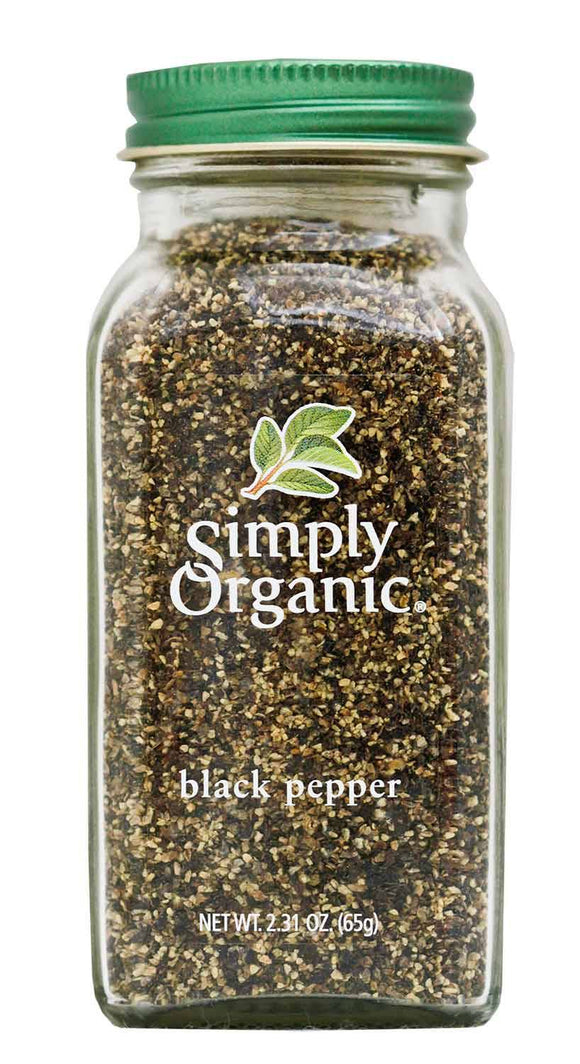 Simply Organic, Black Pepper 65g