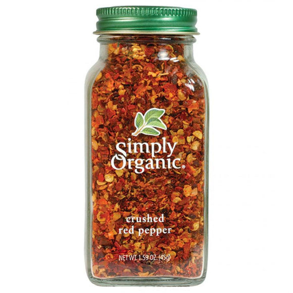 Simply Organic, Crushed Red Pepper 45g