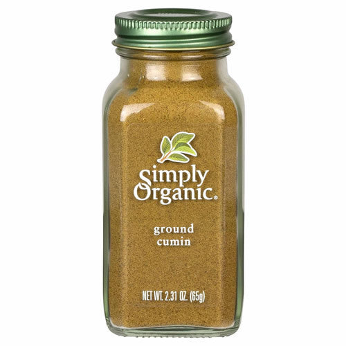 Simply Organic, Ground Cumin 65g
