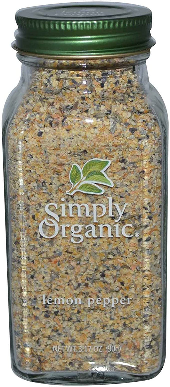 Simply Organic, Lemon Pepper 90g