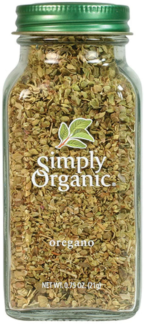 Simply Organic, Oregano, 0.75oz 21g