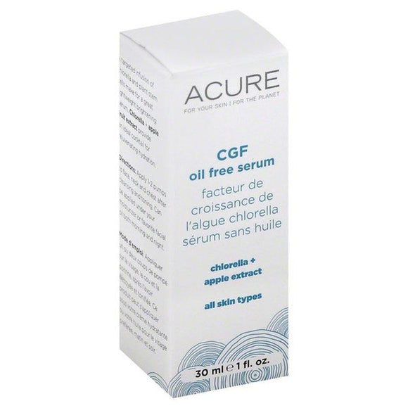 ACURE ORGANICS CFG OIL FREE SERUM 1FL. OZ (30ML)