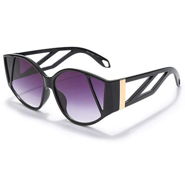 Westware Black/Purple / United States Splatter Tortoise Shell Sunglasses