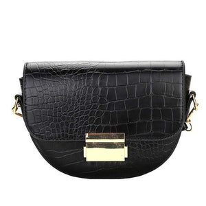 Westware Black / United States Crocodile Rock Shoulder Bag