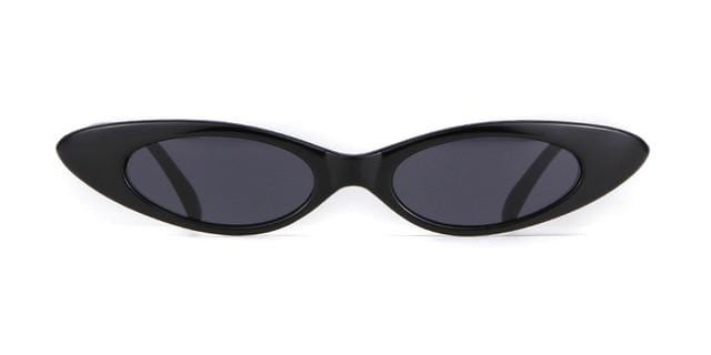 Westware BLACK / United States Oval Cateye Sunglasses