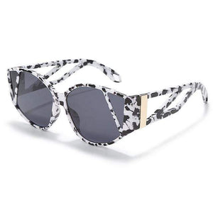 Westware Black/White / United States Splatter Tortoise Shell Sunglasses