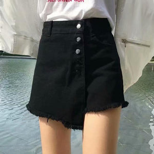 Westware Black / XL / United States Button Skort