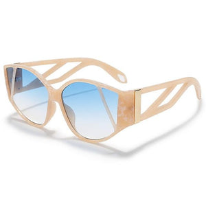 Westware Blue / United States Splatter Tortoise Shell Sunglasses