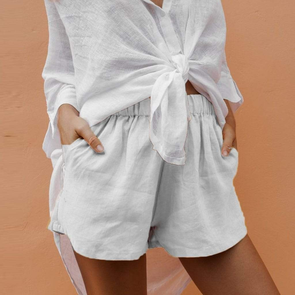 Westware Breezy Linen Shorts