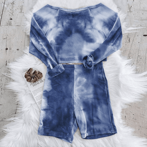 Westware Dark Blue / L / United States Long Sleeve Tie Dye Set