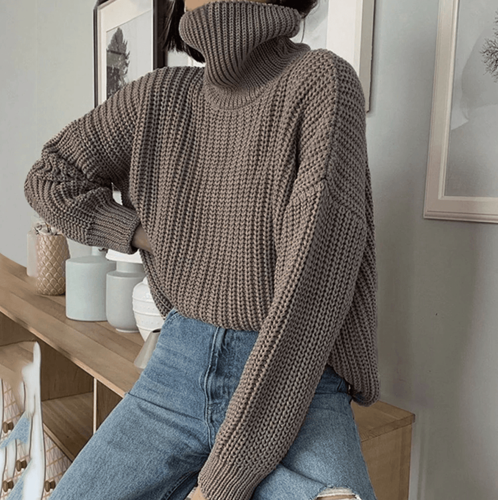 Westware Foldover Turtleneck